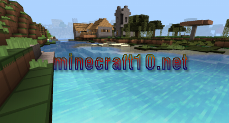 DC Pack With Shader для MCPE 0.10.4