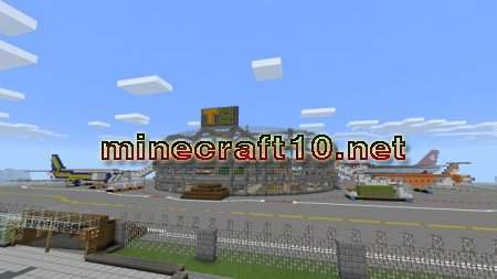 Карта Minecraft Airport [Creation] 0.10.4