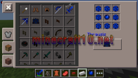 Мод The Prophecies Weapons [0.10.5]