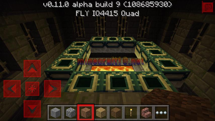 """Сид на ендер замок """" Моды и сервера Minecraft PE Сид на замок в майнкрафт 0.14.0"""