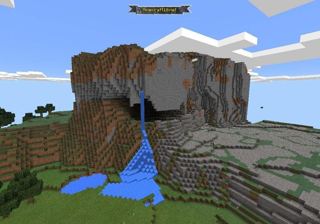 какой сид в майнкрафте на замок #2