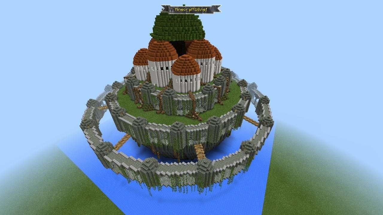 2 крепостей для майнкрафт 0.13.0 карта #10