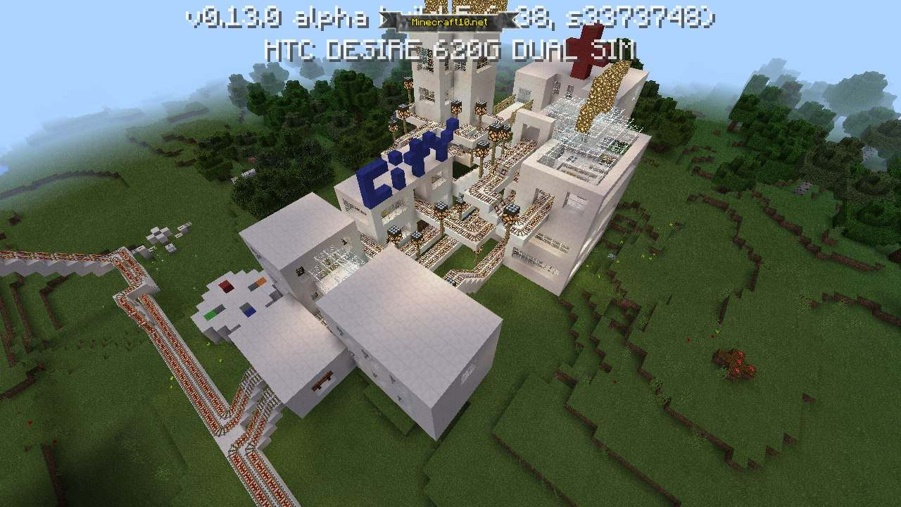 Minecraft 0.13.0 alpha сервера