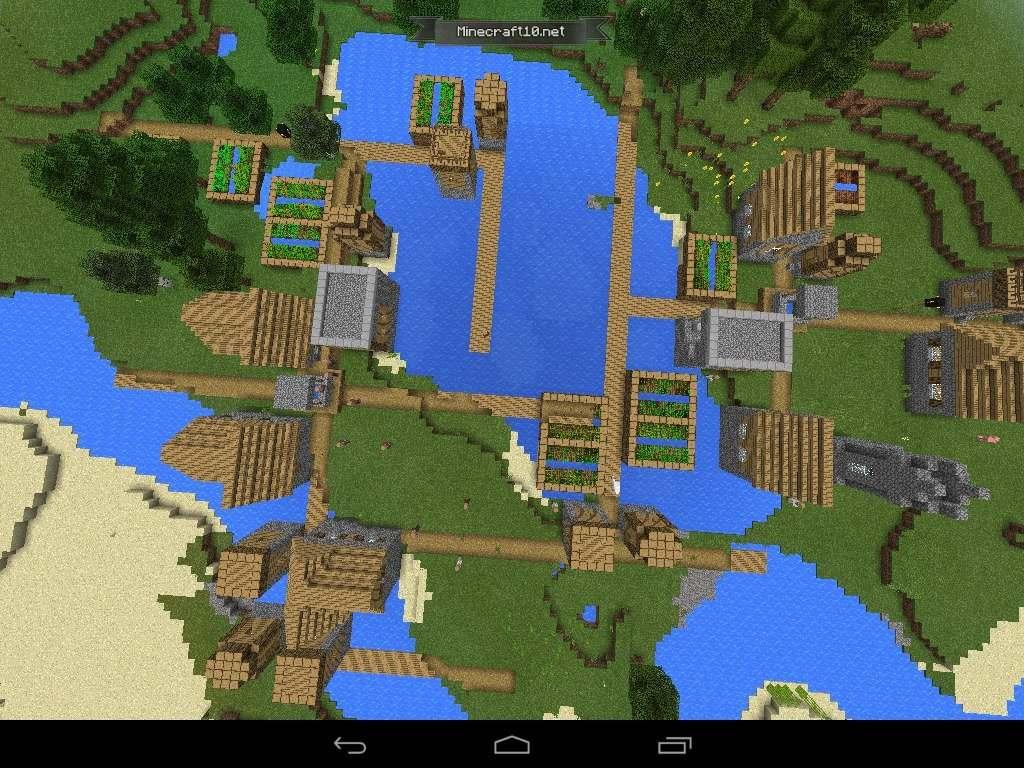 сиды с деревнями на майнкрафт 0.13.0 #8