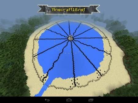 майнкрафт0.14.0 как сделать карту голодные игры #3