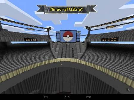 Карта Pokemon Arena.