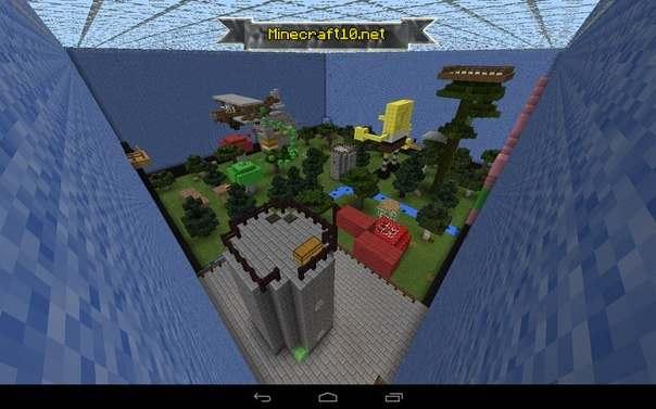 скачать карту для Minecraft прятки - фото 5
