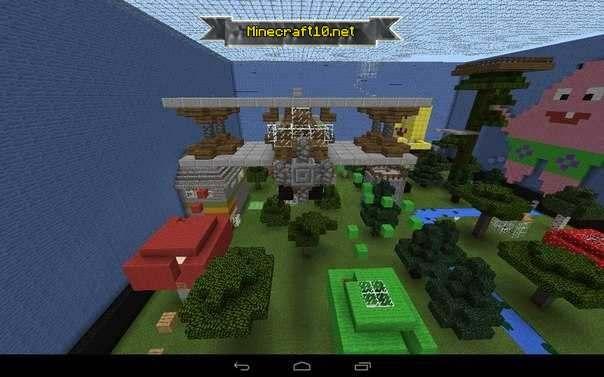Карта прятки 5 [minecraft pe 0. 14. 0] карты для minecraft pe.