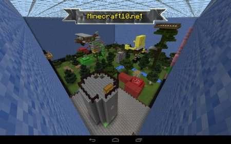 Minecraft pe скачать карту прятки в красти.краб