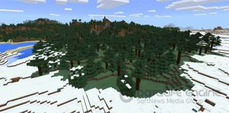 Double Snow Village & Forests