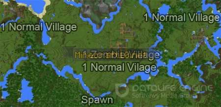 1606599678: Four Villages Near Spawn