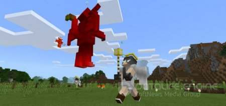 "Аддон ""Angels vs Devils"" для Minecraft PE 1.0 - 1.2"