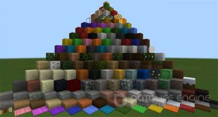 Текстур пак Paper Cut-Out Texture Pack 1.2