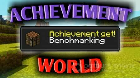 Карта «Achievement World» для Minecraft 1.2