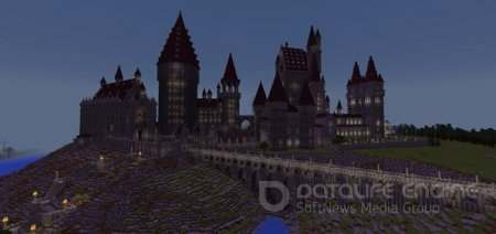 "Карта ""Hogwarts & Surrounding Areas"" для Minecraft PE"