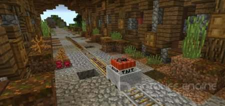 TNT Catch-up Minecraft PE карта 1.2.8