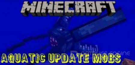 Aquatic Update Mobs 1.4, 1.14 Minecraft PE Аддон 1.2.5