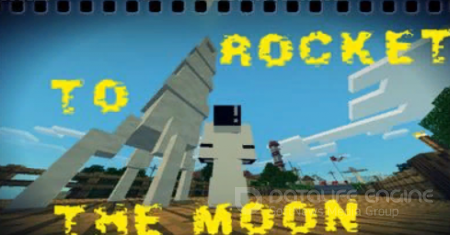 Rocket To the Moon Addon For Minecraft PE 1.2.9
