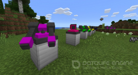 Defensive Turrets mod for Minecraft PE 1.2.8