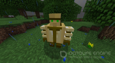 Undying guardian mod for Minecraft PE 1.2.9