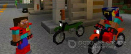 Sport Bikes Mod For Minecraft PE Bedrock 1.2.10