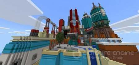 "Карта ""World Of Chemistry"" для Minecraft PE"